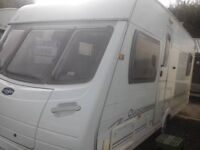 lunar quasar eb 4 berth fixed bed