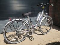 His and Hers electric bikes ( Powabyke XBYKES), hardly used, available as pair or will split.
