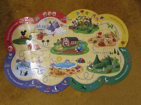 Toddler child Puzzle jigsaw activity game and learning.