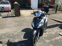 HONDA VISION 50 cc Matt grey 17 plate super low mileage hpi clear not vespa pcx sh !!