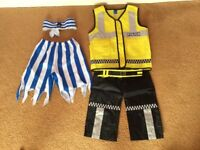 Variety of kids dressing up clothes for 3 to 5 year olds