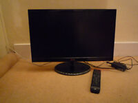 LG 24inch LED screen with stand – model 24MN43