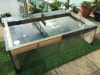 Compact greenhouse, glasshouse, seed box to suit garden, patio, terrace, allotment, school
