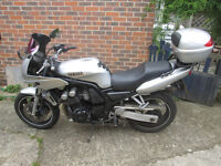 Yamaha Fazer, FZS600 2001 Low mileage. MOT to June 2018, great bike