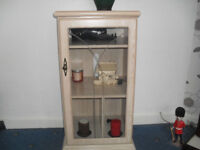 Cabinet intended for video player with many uses. excellent condition & looks good