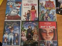 Range of DVDs - Nanny McPhee, Cat in the Hat, Get a Clue