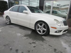 2009 Mercedes-Benz E-Class 3.5L V6 W/ AMG ALLOYS & EXHAUST