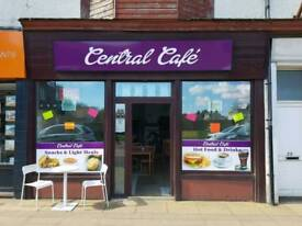 Fully established cafe with lease for sale