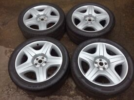 Bentley Continental GT 19 Wheels with Pirelli tyres