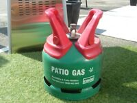Calor Gas 'Empty' 'Patio Gas' 5kg Propane gas bottle, can be delivered