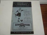 Rare Durban and County Football Association 28 & 29 June 1958 Football Programme