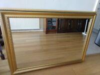 Antique Gilt Framed Wall Mirror