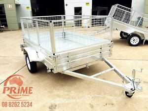 $1500 7x4ft Brand New Galvanised 7x4ft Tilt Trailer with Cage Pooraka Salisbury Area Preview