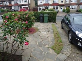 3 Bedroom 2 reception newly refurbished house with private gdn to the rear and garage to the front.