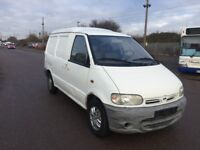 LEFT HAND DRIVE NISSAN VANETTE, DRIVES WELL,GOOD LOAD SPACE,ENGINE & MECHANICS,PAPERS SORTED.CALL ME