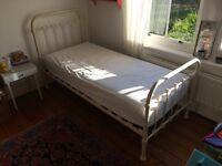Laura Ashley Single Metal Frame Bed