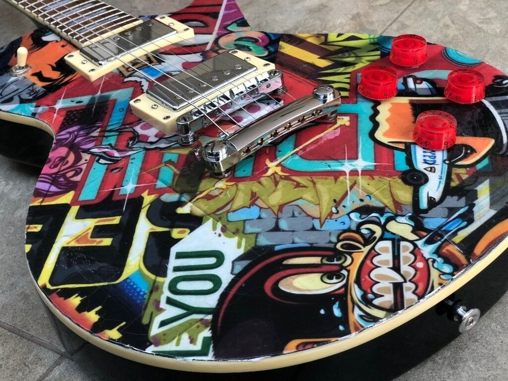 WRG-8282] Custom New Gibson Les Paul Jimmy Page Wiring Harness on