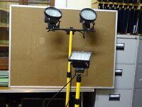 2 x builders lamps