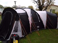 Vango Killington 400 Tent. Great family tent with lots of living space.