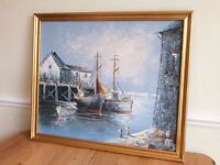 Maritime Painting Oil On Canvas