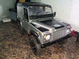 radio control 1/10 scale landrover defender rc landrover truck car landy