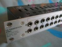 behringer ultrapatch patchbay