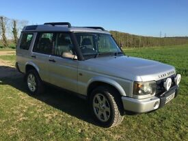 7 seater Landrover Discovery TD5