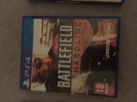 PlayStation 4 Battlefield Hardline