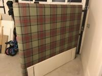 Luxury tartan headboard