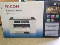 Ricoh Aficio SG3110DN GELJET colour printer for business