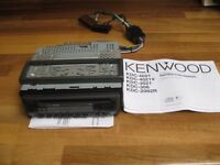 Kenwood KDC-3021 car stereo and CD player