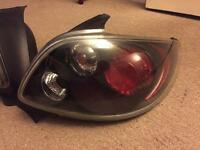 206 GTI rear lights