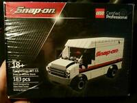 Limited edition lego snap on van