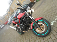 SUZUKI SV650 X MOTORCYCLE REAL HEADTURNER LOTS OF MODS