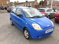 STUNNING 2009 CHEVROLET MATIZ 800cc VERY LOW ON INSURANCE AND ROAD TAX//MOT JANUARY 2018