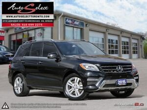 2015 Mercedes-Benz M-Class 4Matic ML350 BLUETEC ONLY 84K! **D...