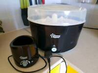 Tommee tippee electric steriliser and bottles warmer