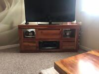 Tv unit, table and nest of tables