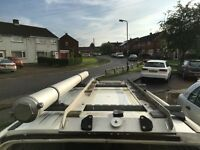 ford escort van roof rack and inside racking very good quality