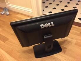 "Dell 19"" flat panel lcd screen SE198WFPf"