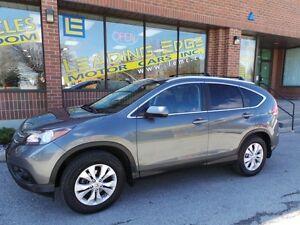 2013 Honda CR-V EX-L, AWD, BACK UP CAM, NO ACCIDENTS!!