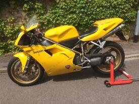 Ducati 748 Biposto. Reduced Price. Leo Vinci SBK exhaust