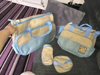 5pc baby changing bag