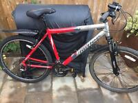 """Mens 20"""" Claud Butler bike bicycle. Serviced inc NEW, D lock, NEW lights & tyre. Free delivery"""