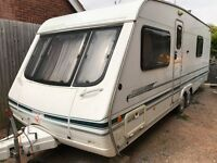 Swift Conqueror Jubilee Edition, 4 birth, new full awning, VGC