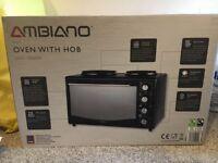 Ambiano - Mini Oven with Hob *NEW IN BOX*