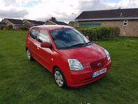 KIA PICANTO 1.0 PETROL, AIRCON. ONE LADY OWNER FROM NEW!!!