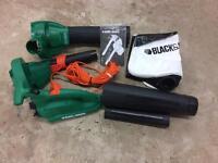 Garden blower/vacuum