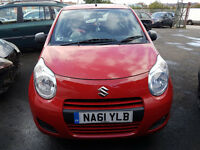 SUZUKI ALTO 2011 67,000 MILES 1.0 PETROL 5 DOOR HATCHBACK MANUAL RED 2 KEYS, SERVICE HISTORY