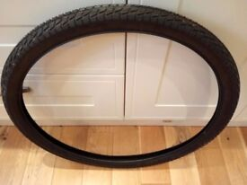 """THIS IS A BRAND NEW 27.5 """" BLACK KENDA TYRE."""